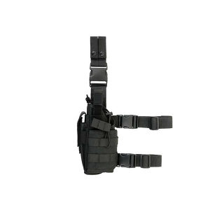 2-Ways Tactical Leg Holster for left-handed