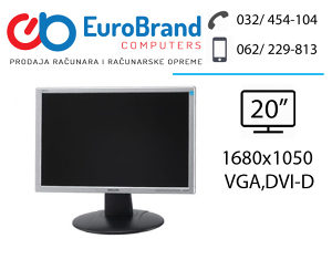 "LCD monitor Philips 20"" widescreen"