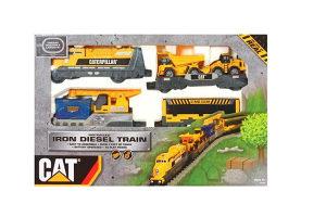 Vlak na baterije CAT Iron Diesel