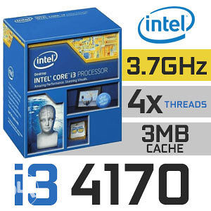 Intel Procesor - Core I3 4170 - 3,7 GHz (Haswell)