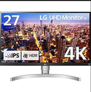 """LG 27"""" 27UK650-W 4K UHD 3840x2160 IPS HDR10"""
