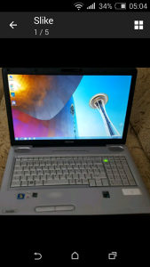 Toshiba Satellite L550-15K