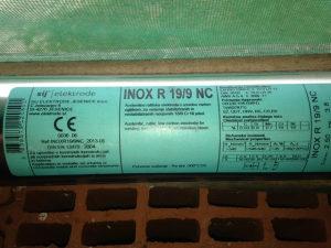 Elektrode Inox