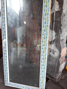 Balkonska vrata PVC desna