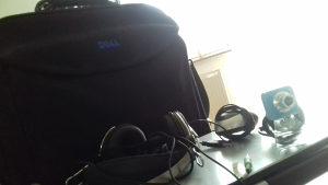 LAPTOP HP slusalice web cam torba za laptop