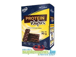 6PAK NUTRITION PROTEIN WAFERS 90g