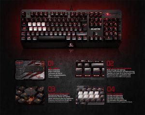 Tastatura Rampage Blade Rio R10 Gaming
