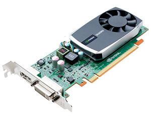 NVIDIA Quadro 600 1 GB 128bit DDR3  DVI-I DP low