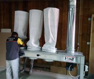 Filterske vreće za drvnu i prehrambenu industriju