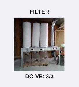 FILTER VENTILACIJA TIP: DC-VB 3/3