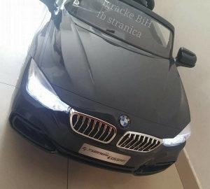 Auto autic na akumulator sa daljinskim BMW CRNI NOVO!