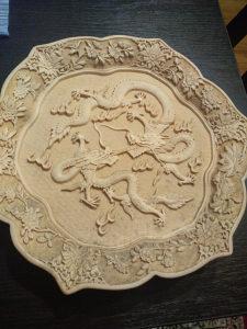 Kineski ukrasni tanjur