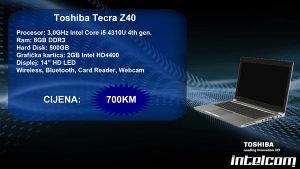 Toshiba Tecra Z40 Core i5 4th gen.