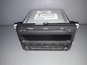 RADIO CD DIJELOVI SKODA FABIA > 10-14 5J0035161C