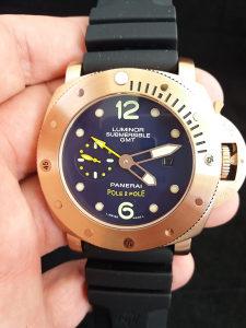 Panerai Submersible GMT