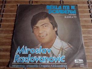 Miroslav Radovanović – Rekla Mi Je Dovidenja
