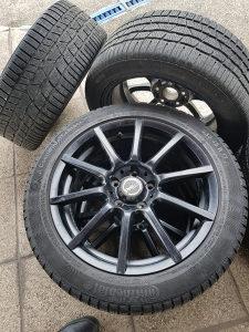 Alu Felge sa gumama za Mercedes E clase M+S 17 Coll