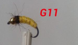 Umjetne mušice - podvodne muhe