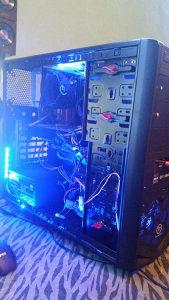 Racunar Gamer, Quad core, 1gb 512bit, 8gb ram