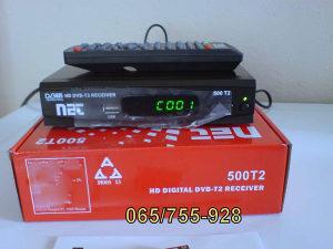 DVB-T2 HD zemaljski resiver NET-500T2 (model2016)