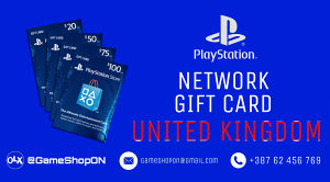 5 GBP | PSN | Gift Card | Playstation PLUS | UK | 5 £