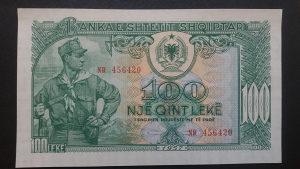 Albanija 100 leke 1957 UNC