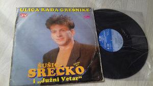 gramofonska ploča SREĆKO ŠUŠIĆ I JUŽNI VETAR