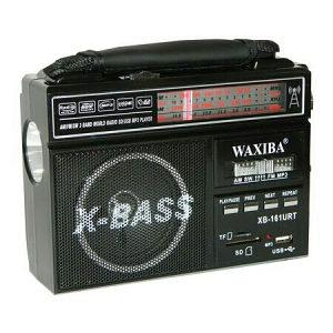 X-BASS Portable FM Radio Model No:XB 161URT