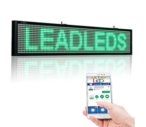 LED reklama display WiFi 100cm x 20cm u 3 boje
