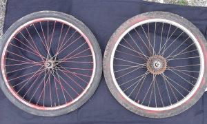 felge komplet sa gumama za bicikl