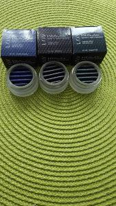 Sjena za oci 3 nijanse plava, crna,zelena.