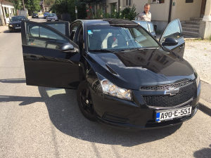 Chevrolet cruze 2011 registrovan