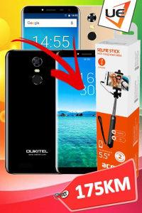 Oukitel Smartphone C8 Gold/Black/Purple  POKLON