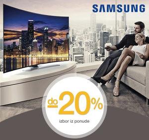 AKCIJA >>> Samsung ZAKRIVLJENI TV već od 989 KM Curved