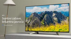 """Sony ANDROID 4K 49"""" UHD TV KD49XF7596BAEP XF7596"""