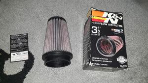KN filter za zrak gljiva, veliki K&N