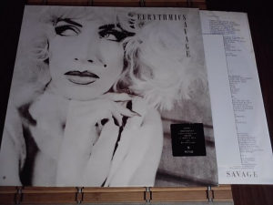 Eurythmics ‎– Savage lp
