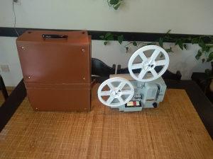Kino projektor 8 mm.