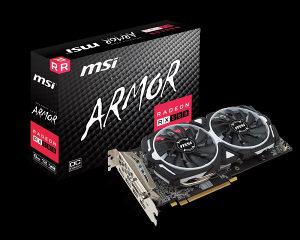 VGA MSI Radeon RX 580 ARMOR 8G OC