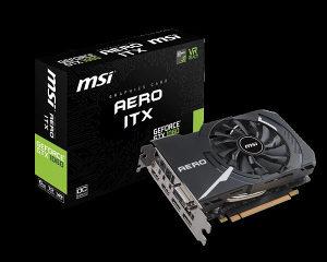 VGA MSI GeForce GTX 1060 AERO ITX 6G OC