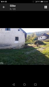 Kuća sa okućnicom,zemljište Kiseljak Orahovo Medovci