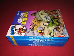 Zagor predstavlja Ludens u boji lot 8 stripova