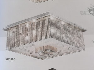 LED Kristalni Luster ESTO