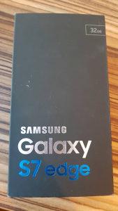 Samsung s7 edge kutija, punjac,slusalice i maska