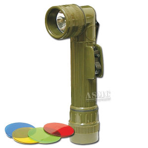 Airsoft Military Angle Head Flashlight