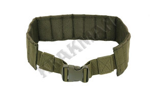 Airsoft Padded patrol belt - olive