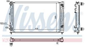 AUDI A4 -Hladnjak vode 1.6i/1.8i/1.9TDI (1994-1999)