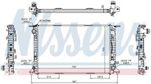 AUDI A4 -Hladnjak vode 2.0 TDI/3.0 TDI (2007-2011)