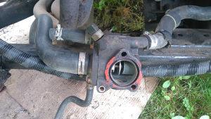 Termostat senzor temerature motora