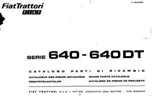 Fiat 640 (DT) - katalog dijelova